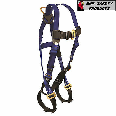 Falltech 7015 Universal Size Full Body Fall Protection Harness Contractor Belt