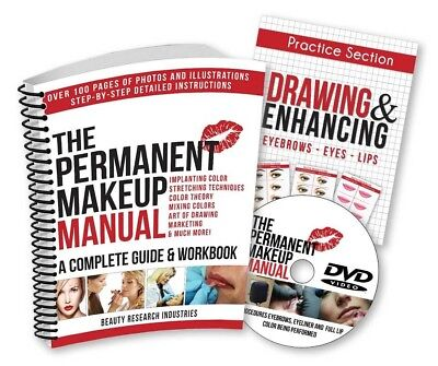 The Permanent Makeup Manual - A Complete Guide Book with DVD