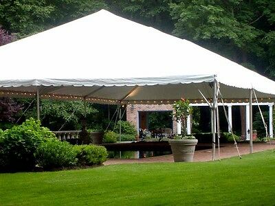 20x20 Commercial Grade Frame Tent With Poles.