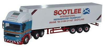 OXFORD DIECAST 76EC001 1:76 OO SCALE ERF EC Olympic 40' Fridge Scotlee Transport