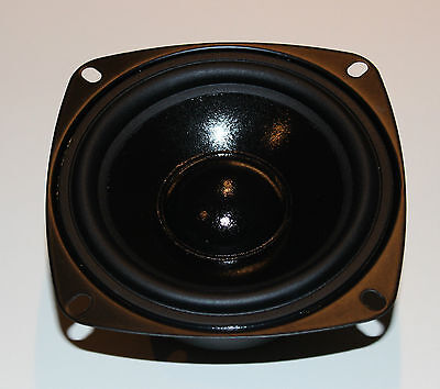"2x Dynavox 4"" 10cm 100mm Bass Speaker Woofer DY-103 8Ohm PAAR"