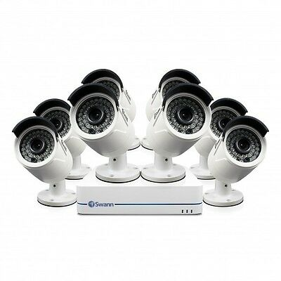 Swann SWNVK-874008D 4MP 8 Channel NVR with 8 x NHD-819 Dome Cameras