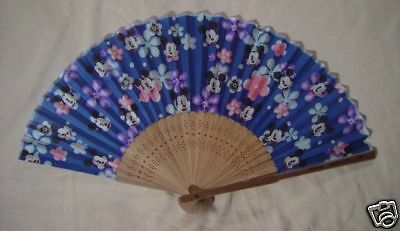 "Disney : Eventail Pliant / Folding Fan "" Mickey Mouse """