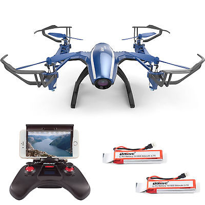 UDI U28W Wifi FPV Drone 2.4G 4CH Headless RC Quadcopter with 720P HD Camera RTF