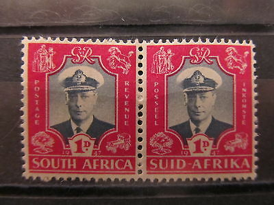A2P24 UNION OF SOUTH AFRICA 1947 1d MH*