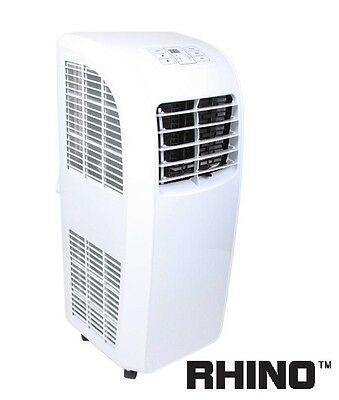 Rhino Portable Air Con Conditioner Cooling Fan 9000 BTU H03607 Conditioning