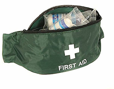 Qualicare Bum Bag First Aid Kit-Travel,Outdoor,Playground,Camping,School,Sport