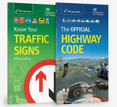 Dvsa Official Highway Code 2019 & + Know Your Traffic Signs Paperback Uk Trfc+Hw