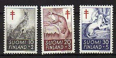 A7576) FINLAND 1962 MNH** Animals - Anti Tubercolosis
