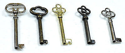 Keys for Antique Furniture (Lot of 5)