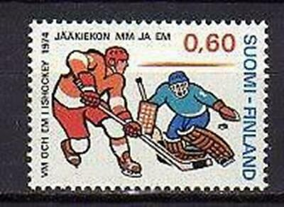 A7596) FINLAND 1974 Scott# 544 MNH** Hockey