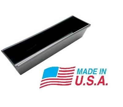 """14"""" Advance Plastic Rounded Bottom Drywall Mud Pan w/ steel edge Made in the USA"""