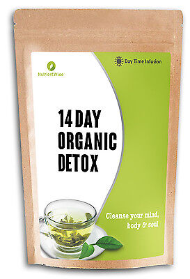 Detox Green Tea Herbal Slimming For Weight Loss (Daytime Diet Cleanse) Teatox