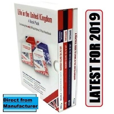 Latest THE COMPLETE SET OF 4 OFFICIAL LIFE IN THE UK STUDY BOOKS 'Lf+QA+Std+Prct