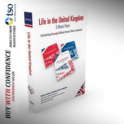 Latest Edition Books for the Life in the UK Test Preparation 2018 'Lf+QA+Std+Prc