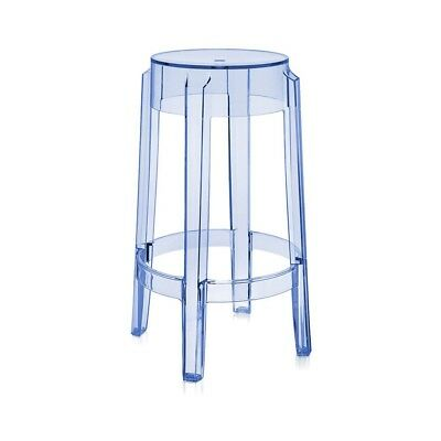 Kartell Charles Ghost Stool Bar Stool ASSORTED COLOURS & SIZES SALE