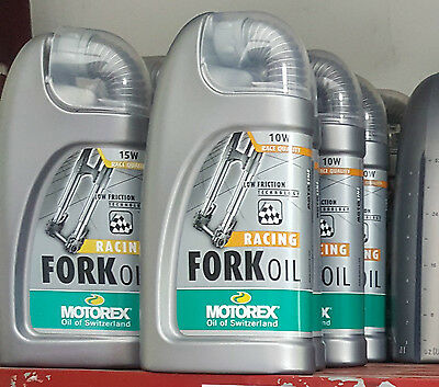 Olio Forcelle Racing Motorex Fork Oil 5 10 15W  1 Litro