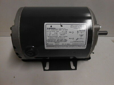 Nos Emerson 8200 Belted Fan And Blower Motor