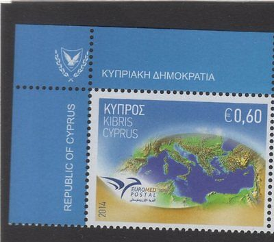 2014 joint issue euromed MNH** Cyprus