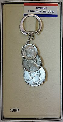 SWANK 90% Coinage Key Chain - D003