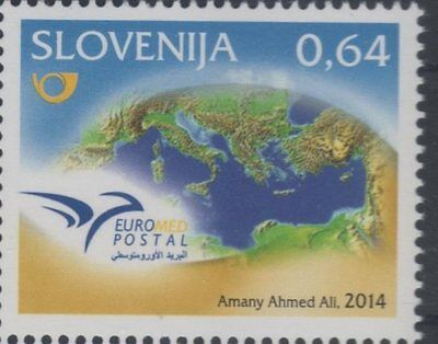 2014 joint issue euromed MNH** slovenia