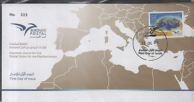 2014 joint issue euromed FDC liban libano post