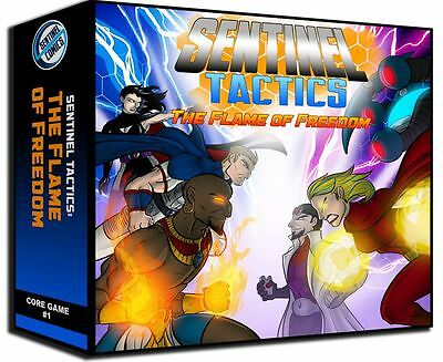 Sentinel Tactics - The Flame Of Freedom - Board Game