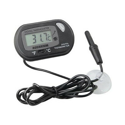 P2FR503 Thermomètre d'aquarium/ Noir/LCD digital de -50 °C à +70 °C