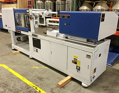 110 Ton, 6 oz. *NIIGATA* MD110-S3 All-Electric Plastic Injection Molding Machine