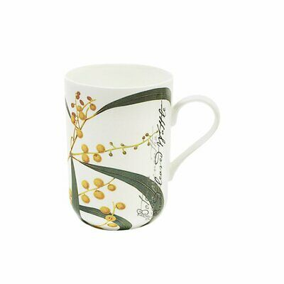 NEW Maxwell & Williams Botanic Mug Wattle