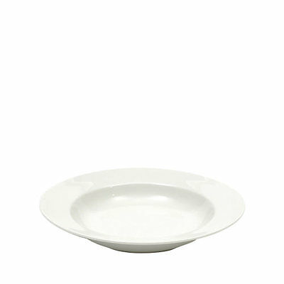 NEW Maxwell & Williams White Basics Rim Soup 23cm