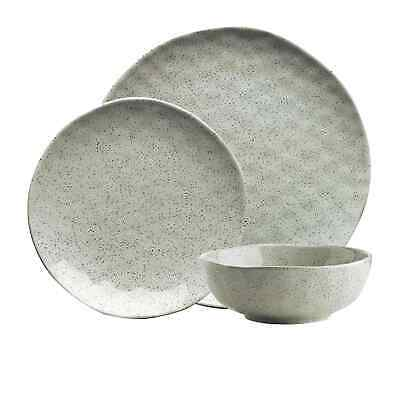 NEW Ecology Speckle Dinner Set 12pc Duck Egg (RRP $130)