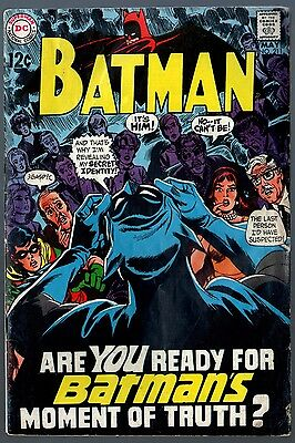 Batman (1940) #211 GD/VG (3.0)