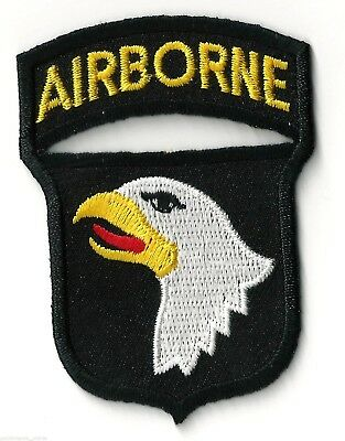 101st AIRBORNE / EAGLE - IRON or SEW ON PATCH