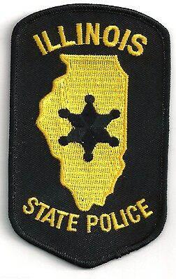 Illinois State Police - Shoulder - Iron On Patch