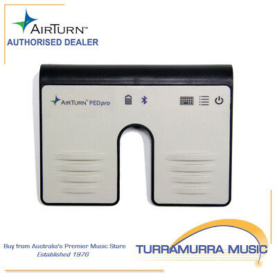 Airturn Ped - Bluetooth Hands Free Controller - Computers & iPad Android Tablets