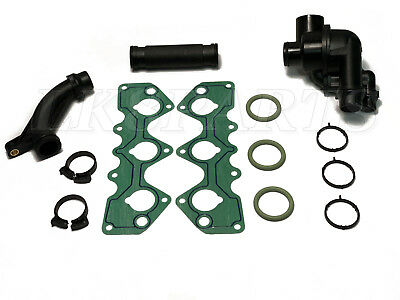New Complete Thermostat Kit With Gaskets for Land Rover Freelander 02-05