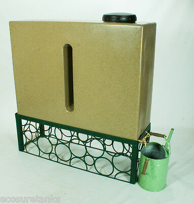 Ecosure 280 Litre Water Butt Green Stand - STAND ONLY