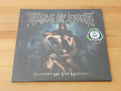 CRADLE OF FILTH - Hammer Of The Witches 2LP GOLD VINYL Sealed / OVP