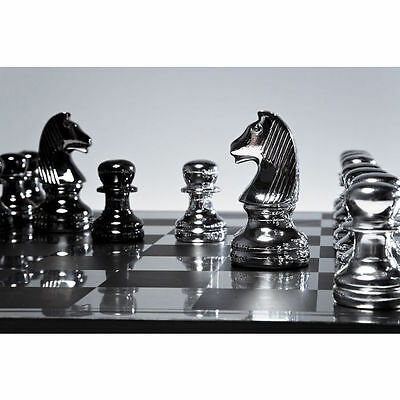 Kare Giant Monochrome Chess Set  PIECES ONLY NO BOARD rrp £200 SALE SALE £50