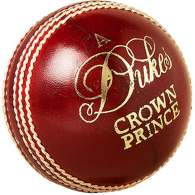 Dukes Cricket Sports Match Playing Crown Prince Ball (Senior 156G/5 1/2Oz)