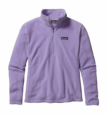 Patagonia Women's Micro-D 1/4 Zip Fleece Pullover - Ploy Purple (X-Large Only)