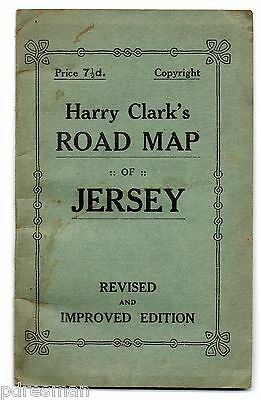Jersey - Harry Clark's Road Map.