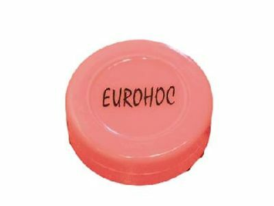 Eurohoc Indoor Ice Hockey Sports Training & Practice Flat Spare Plastic Puck
