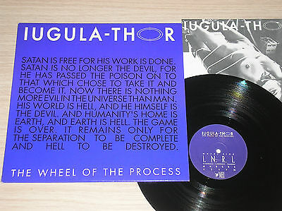 "Iugula-Thor - The Wheel Of The Process - Maxi-Single 12"" Italy"