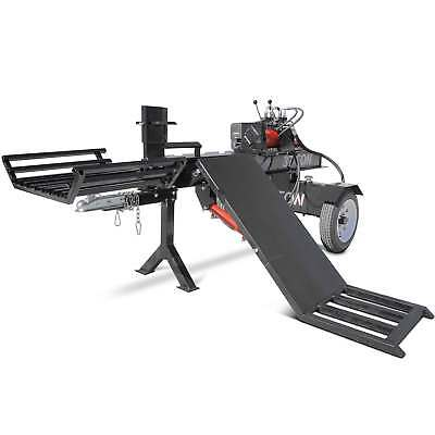 Titan Towable Hydraulic Deluxe Log Wood Splitter 37 Ton w/ Log Lift 420cc Engine