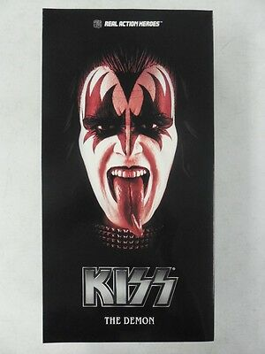 "2009 MEDICOM RAH ~ KISS 12"" Sixth Scale FIGURE ~ GENE SIMMONS Demon MIB HOT TOYS"