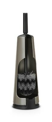 Brabantia Bathroom Toilet Brush and Holder Strong Quality, Platinum