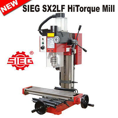 SIEG SX2LF HiTorque Mill 500W Brushless Motor / Extra Long Table