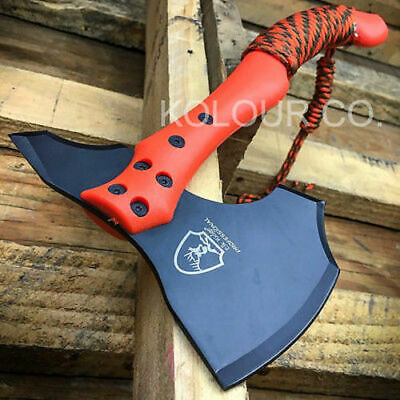"12"" Tomahawk Tactical HUNTING AXE Camping Throwing BATTLE HATCHET Survival Knife"